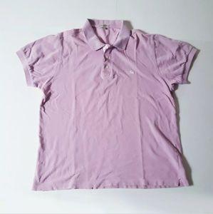 Bueberry Men's Lilac Purple Slim Fit Polo Sz XL